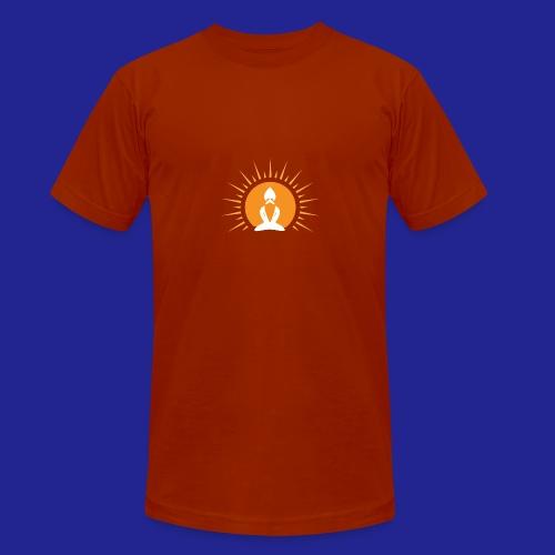 Guramylyfe logo white no text - Unisex Tri-Blend T-Shirt by Bella + Canvas