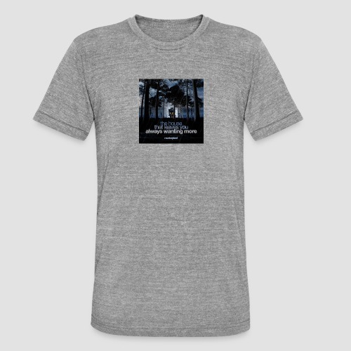 The House - Unisex Tri-Blend T-Shirt by Bella & Canvas