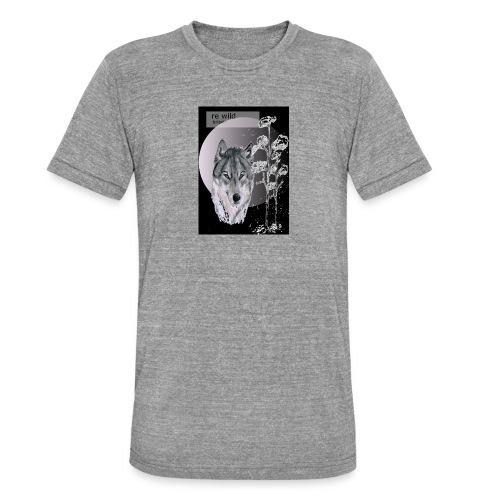 Re wild britain tee shirt - Unisex Tri-Blend T-Shirt by Bella & Canvas