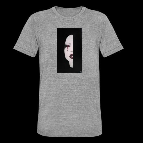 BlackWhitewoman - Maglietta unisex tri-blend di Bella + Canvas