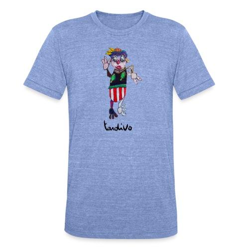 Tardivo - T-shirt chiné Bella + Canvas Unisexe