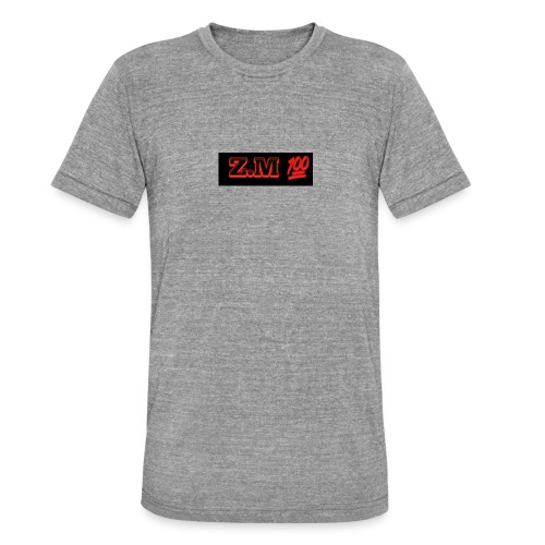 Z.M 100 - Unisex Tri-Blend T-Shirt by Bella & Canvas