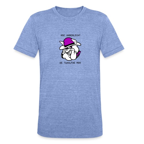 T-shirt D12M - Unisex tri-blend T-shirt van Bella + Canvas