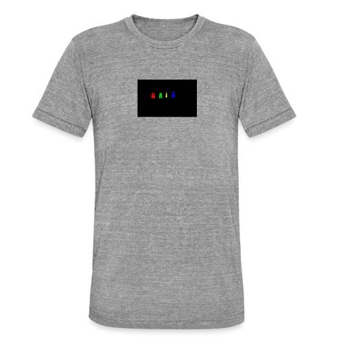 Gaiz - Maglietta unisex tri-blend di Bella + Canvas