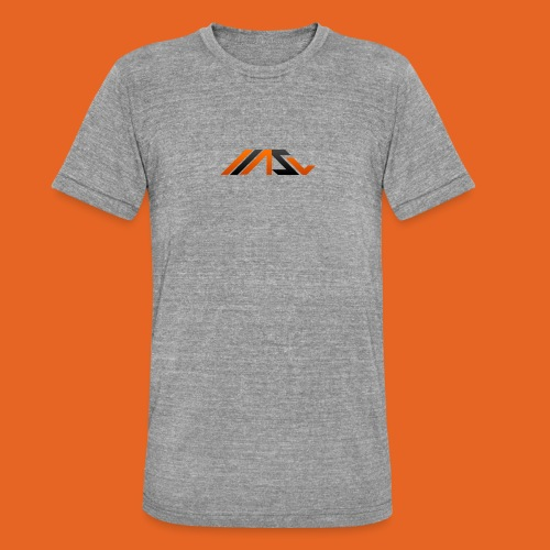 ASV New Look - Unisex Tri-Blend T-Shirt von Bella + Canvas