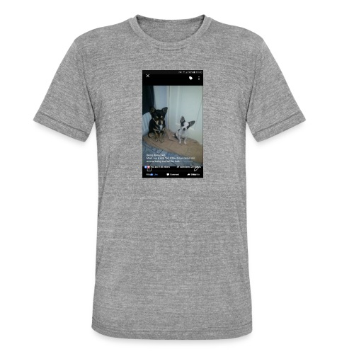 Dogs - Unisex Tri-Blend T-Shirt by Bella & Canvas