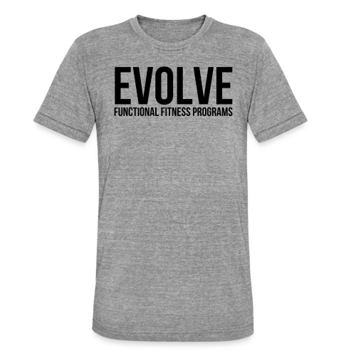 evolve - Triblend-T-shirt unisex från Bella + Canvas