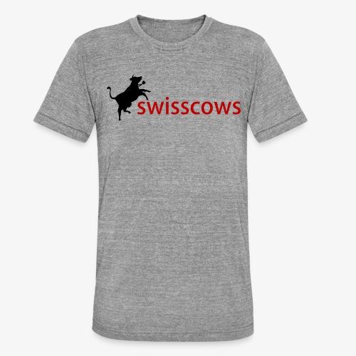 Swisscows - Unisex Tri-Blend T-Shirt von Bella + Canvas