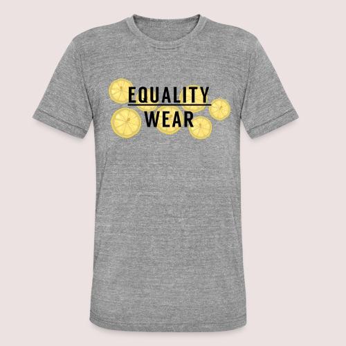 Equality Wear Fresh Lemon Edition - Unisex Tri-Blend T-Shirt by Bella & Canvas