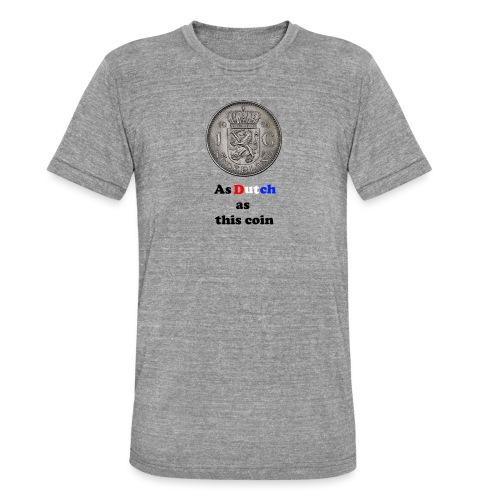 Hollandse Gulden - Unisex tri-blend T-shirt van Bella + Canvas