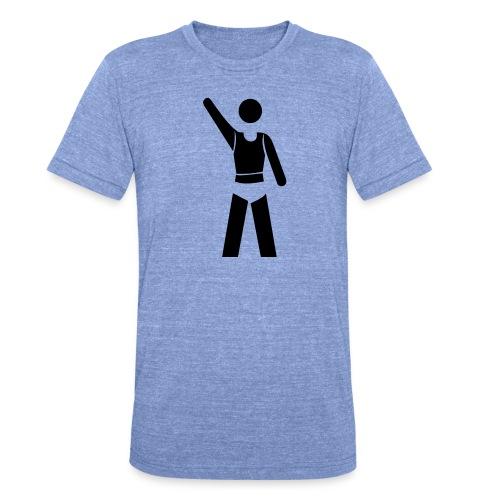 icon - Unisex Tri-Blend T-Shirt von Bella + Canvas