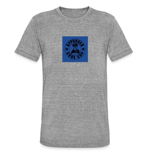 Codecop Approved 32 39mm 400DPI - Unisex Tri-Blend T-Shirt by Bella & Canvas