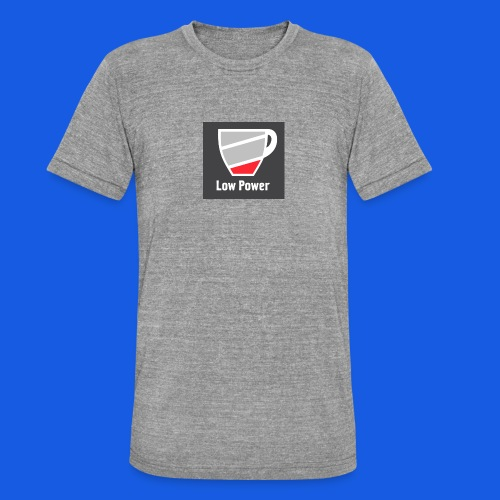 Low power need refill - Unisex tri-blend T-shirt fra Bella + Canvas