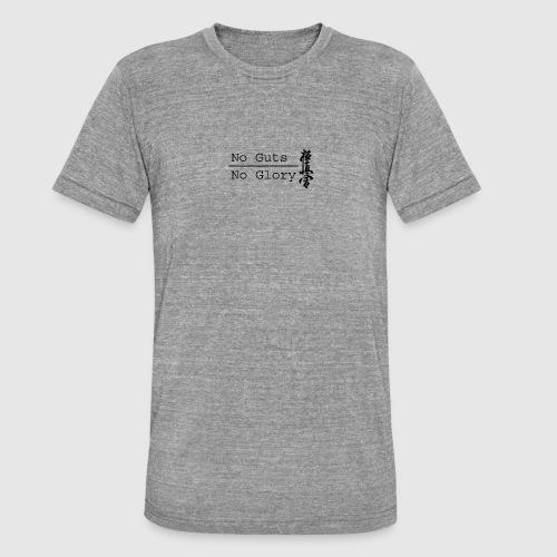 No guts No glory logo - Unisex tri-blend T-shirt van Bella + Canvas