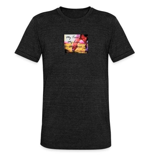 My Horse - Unisex Tri-Blend T-Shirt von Bella + Canvas