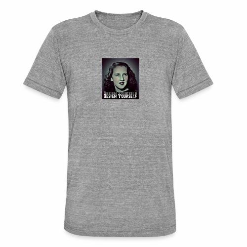 Design Yourself - Unisex Tri-Blend T-Shirt von Bella + Canvas