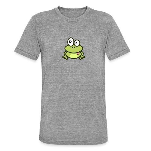 Frog Tshirt - Unisex Tri-Blend T-Shirt by Bella & Canvas