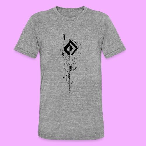 la vie - T-shirt chiné Bella + Canvas Unisexe