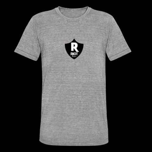 riot Nation logo schwarz - Unisex Tri-Blend T-Shirt von Bella + Canvas