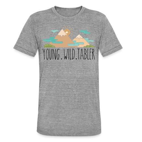 young.wild.tabler - Unisex Tri-Blend T-Shirt von Bella + Canvas