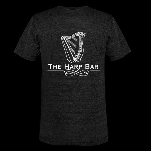 Logo The Harp Bar Paris - T-shirt chiné Bella + Canvas Unisexe