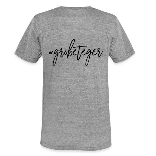 #grobeteger - Unisex Tri-Blend T-Shirt von Bella + Canvas