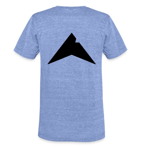 UP-CLAN Logo - Unisex tri-blend T-shirt van Bella + Canvas