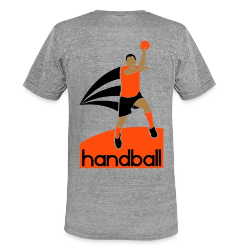Handballer - T-shirt chiné Bella + Canvas Unisexe