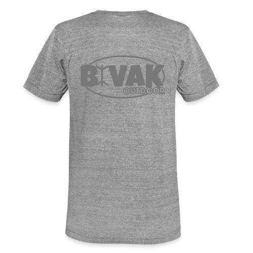 Bivak Outdoor Logo Lines - Unisex tri-blend T-shirt van Bella + Canvas