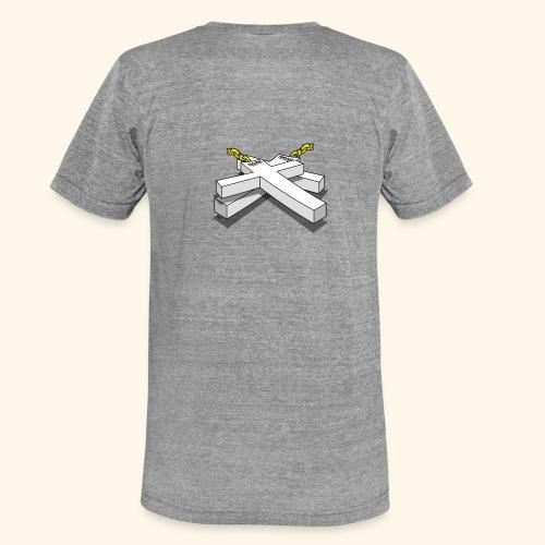 Gold Crosses - Maglietta unisex tri-blend di Bella + Canvas