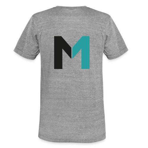 Logo M - Unisex Tri-Blend T-Shirt von Bella + Canvas