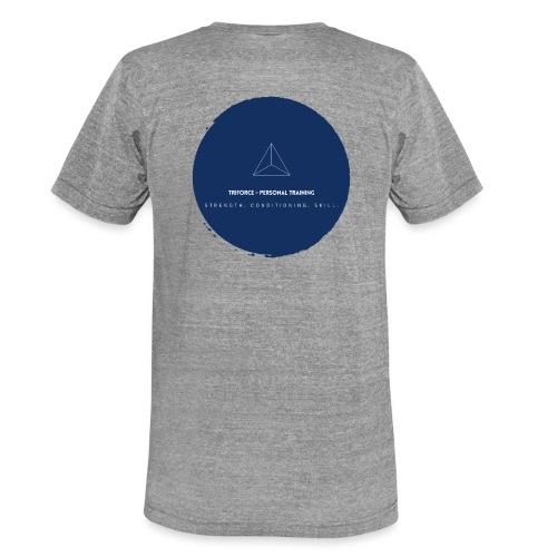Triforce blend (blue) - Unisex Tri-Blend T-Shirt von Bella + Canvas
