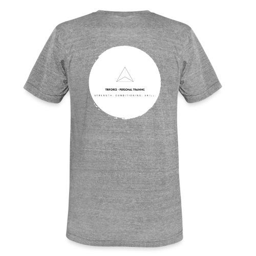 Triforce blend (white) - Unisex Tri-Blend T-Shirt von Bella + Canvas