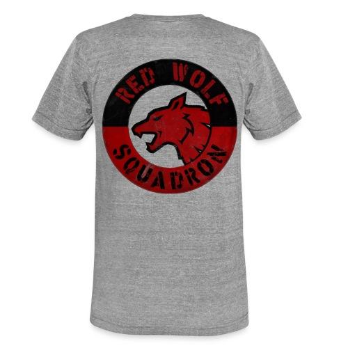 RWS Logo Schriftzug Kombo - Unisex Tri-Blend T-Shirt von Bella + Canvas