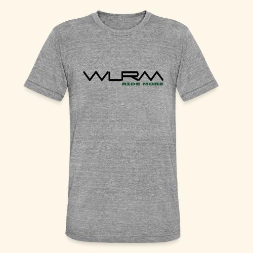 WLRM Schriftzug black png - Unisex Tri-Blend T-Shirt von Bella + Canvas