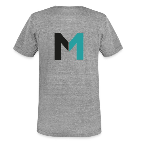 Logo M - Unisex Tri-Blend T-Shirt von Bella + Canvas