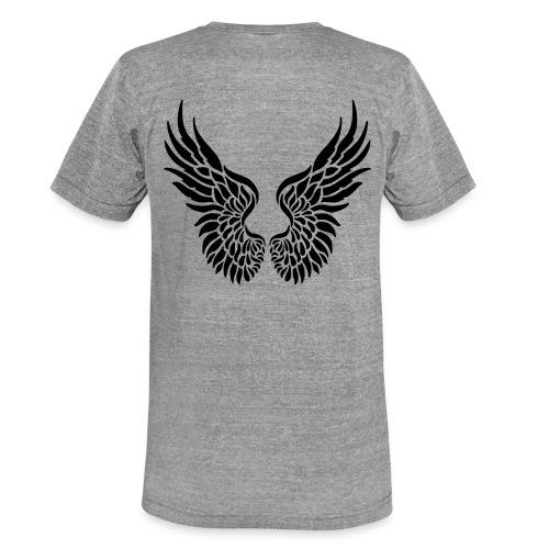 Flügel und Engel - Unisex Tri-Blend T-Shirt von Bella + Canvas
