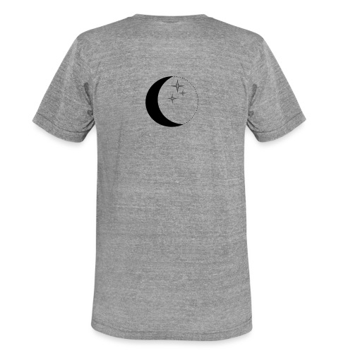 Moon and stars - Unisex Tri-Blend T-Shirt von Bella + Canvas