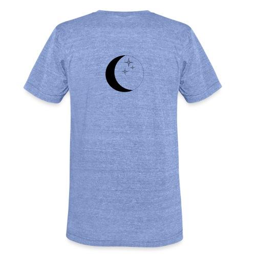 Moon and stars - Unisex Tri-Blend T-Shirt von Bella + Canvas