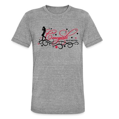 Ornamente_Sterne_01 - Unisex Tri-Blend T-Shirt von Bella + Canvas