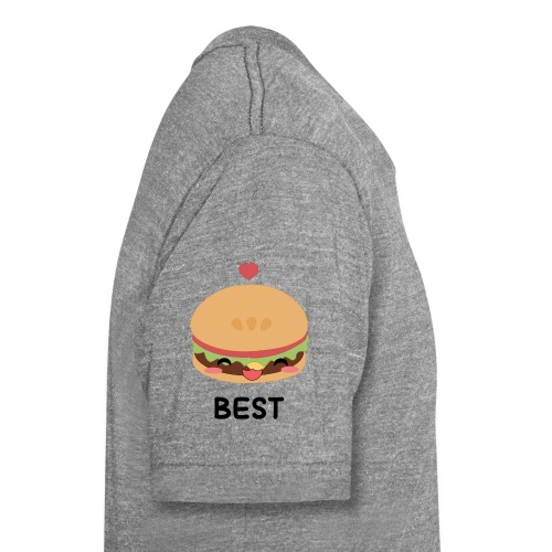 hamburger - Maglietta unisex tri-blend di Bella + Canvas