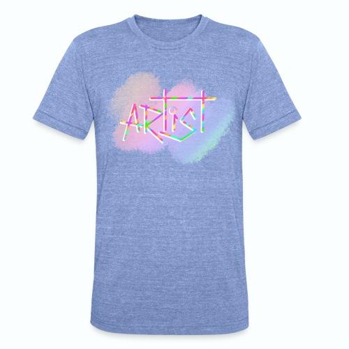 Artist in Colors - Camiseta Tri-Blend unisex de Bella + Canvas