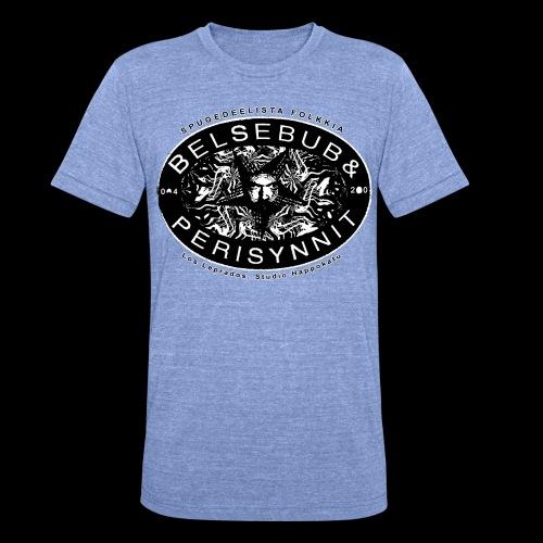 Belsebub&Perisynnit - Bella + Canvasin unisex Tri-Blend t-paita.