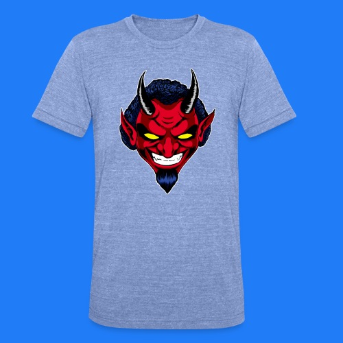 DEMON HEAD by Agill - T-shirt chiné Bella + Canvas Unisexe