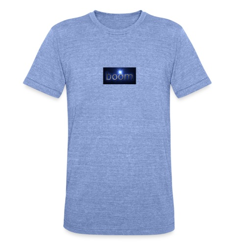 BOOOM - Koszulka Bella + Canvas triblend – typu unisex