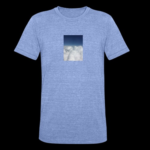 clouds - Unisex tri-blend T-shirt van Bella + Canvas