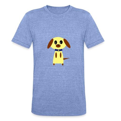 Dog Cute - Unisex Tri-Blend T-Shirt von Bella + Canvas