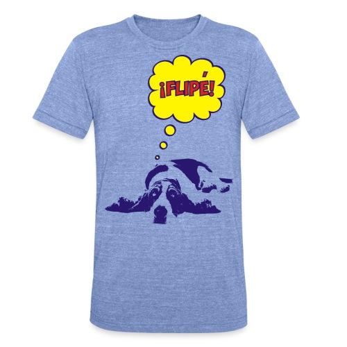 fiple - Camiseta Tri-Blend unisex de Bella + Canvas