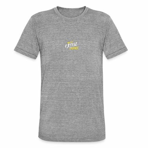 Logo Album First Chance - T-shirt chiné Bella + Canvas Unisexe