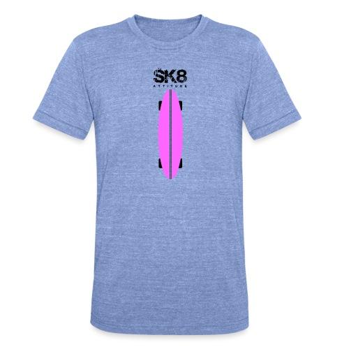 SK8_1_F1-png - Camiseta Tri-Blend unisex de Bella + Canvas